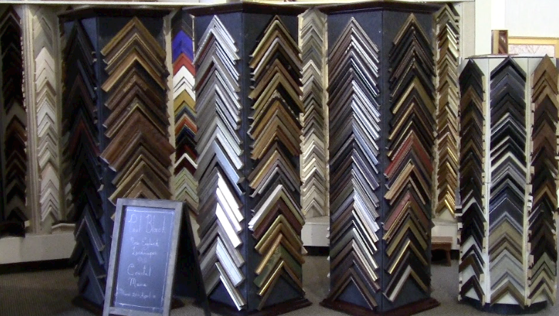 custom framing at Page Waterman Fine Framing