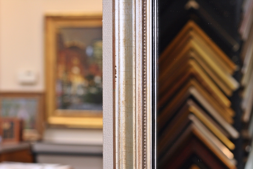 custom framing at page waterman