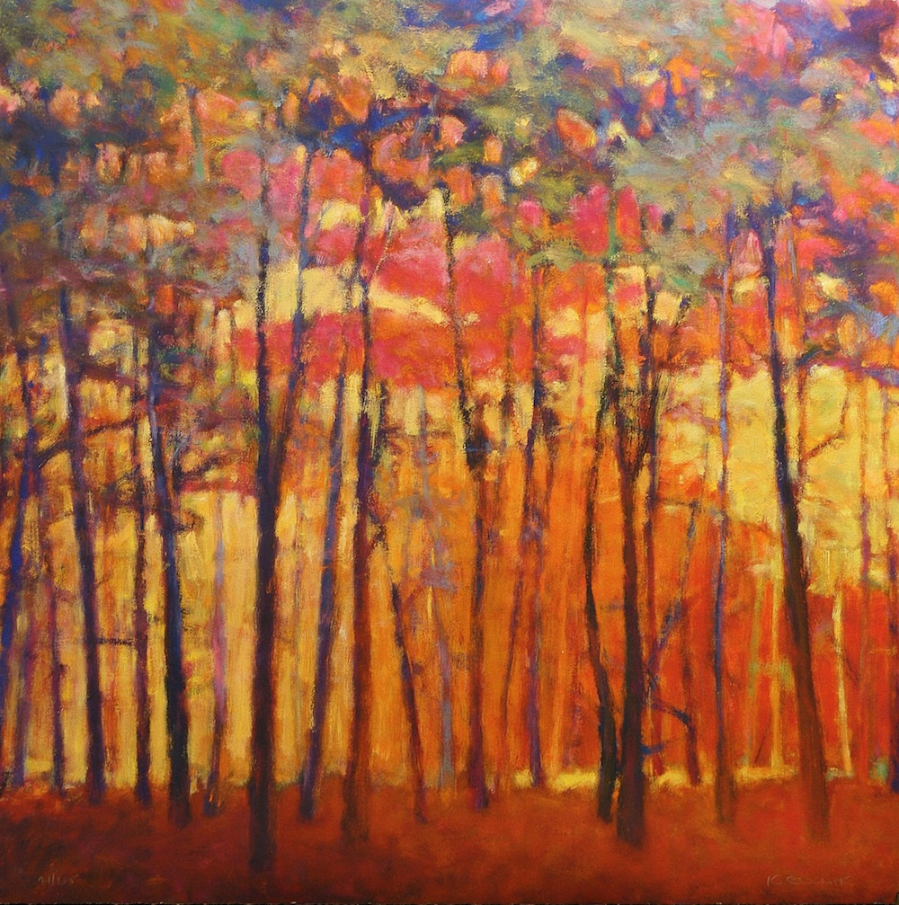Through the Orange Forest by Ken Elliott