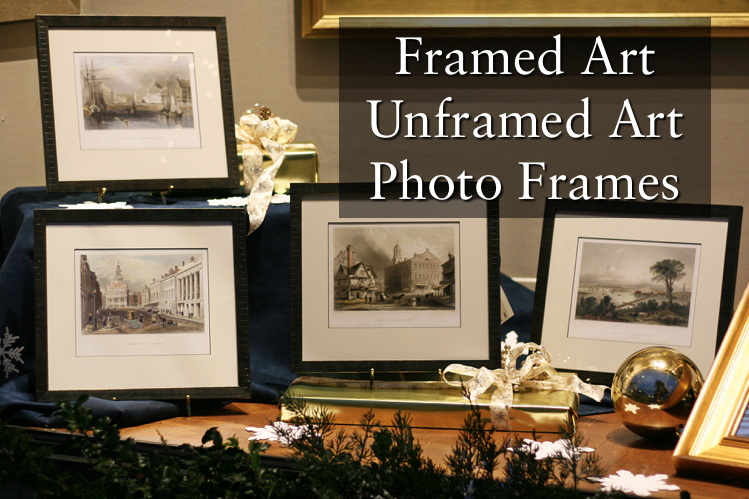 framed art, unframed art, photo frames