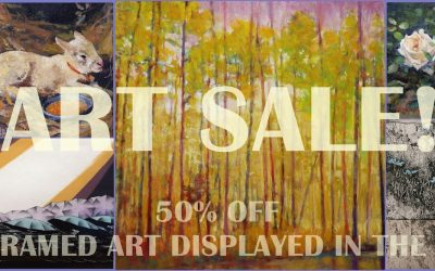 The Sale Of The Century: 50% Off All Framed Art