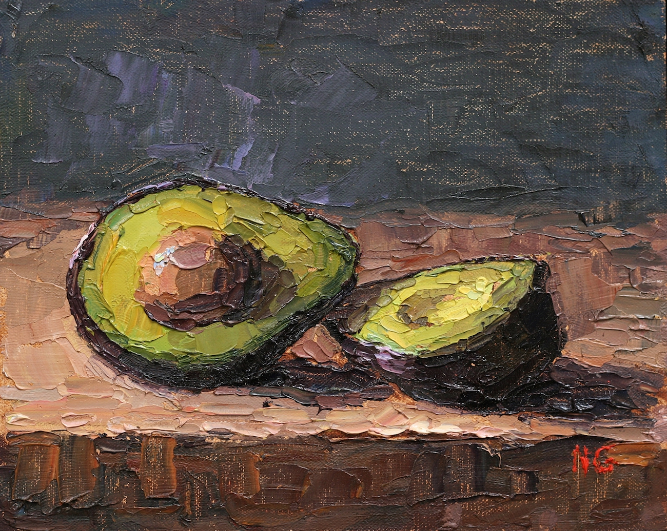 Avocados by Nadine Geller