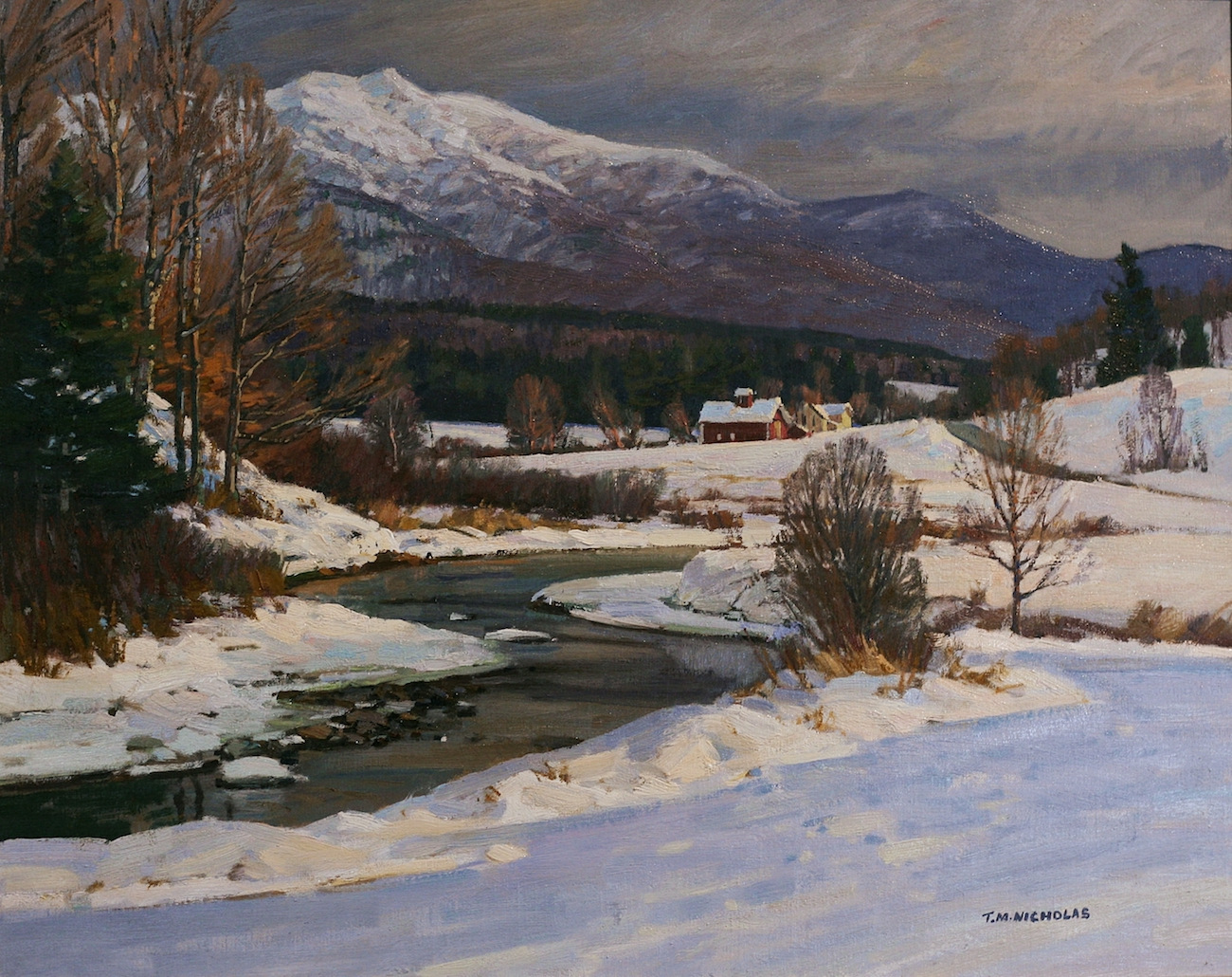 Last Light, Vermont by T.M. Nicholas