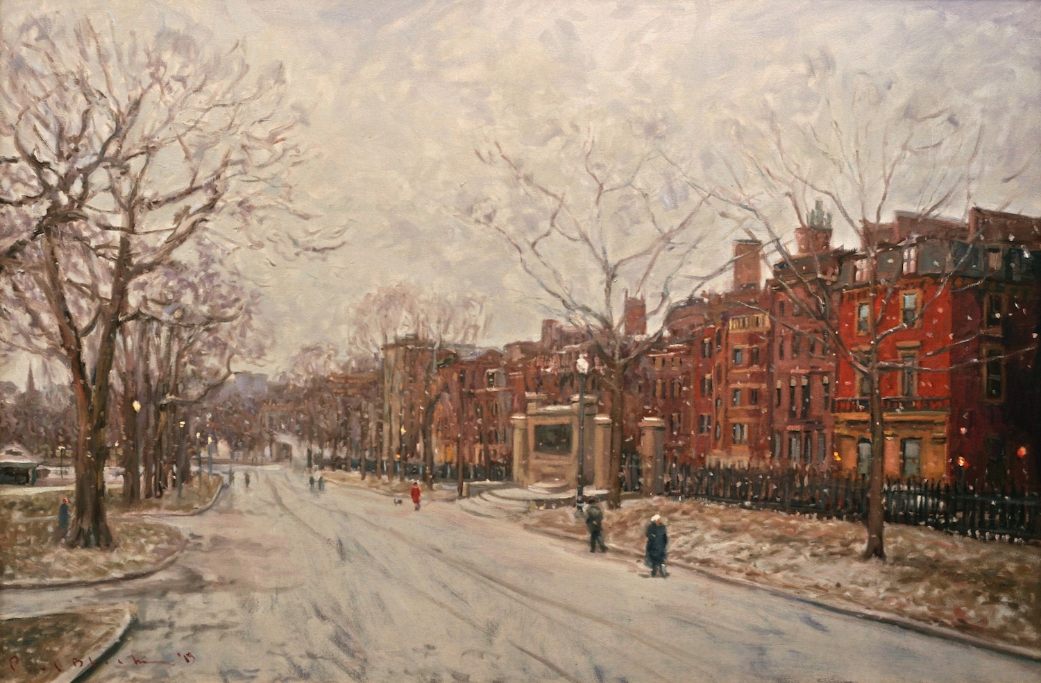 Boston Common by Paul Black | Page Waterman, Gallery & Framing