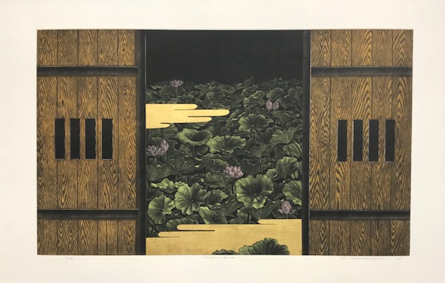 Contemporary Japanese Print Show at Page Waterman, Gallery & Framing, featuring Katsunori Hamanishi