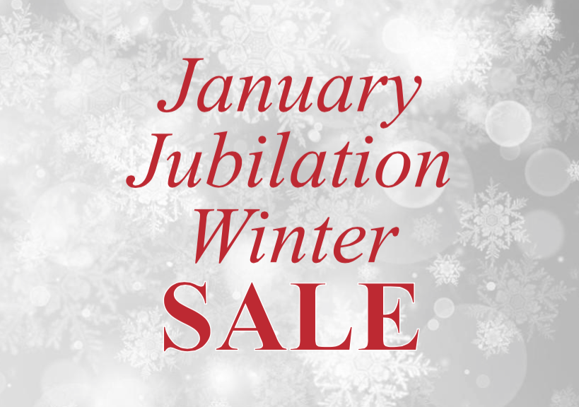 January Jubilation Winter Sale