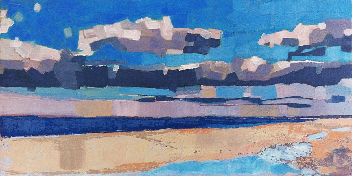 Rufo art show and reception at Page Waterman Fine Framing, Wellesley, MA
