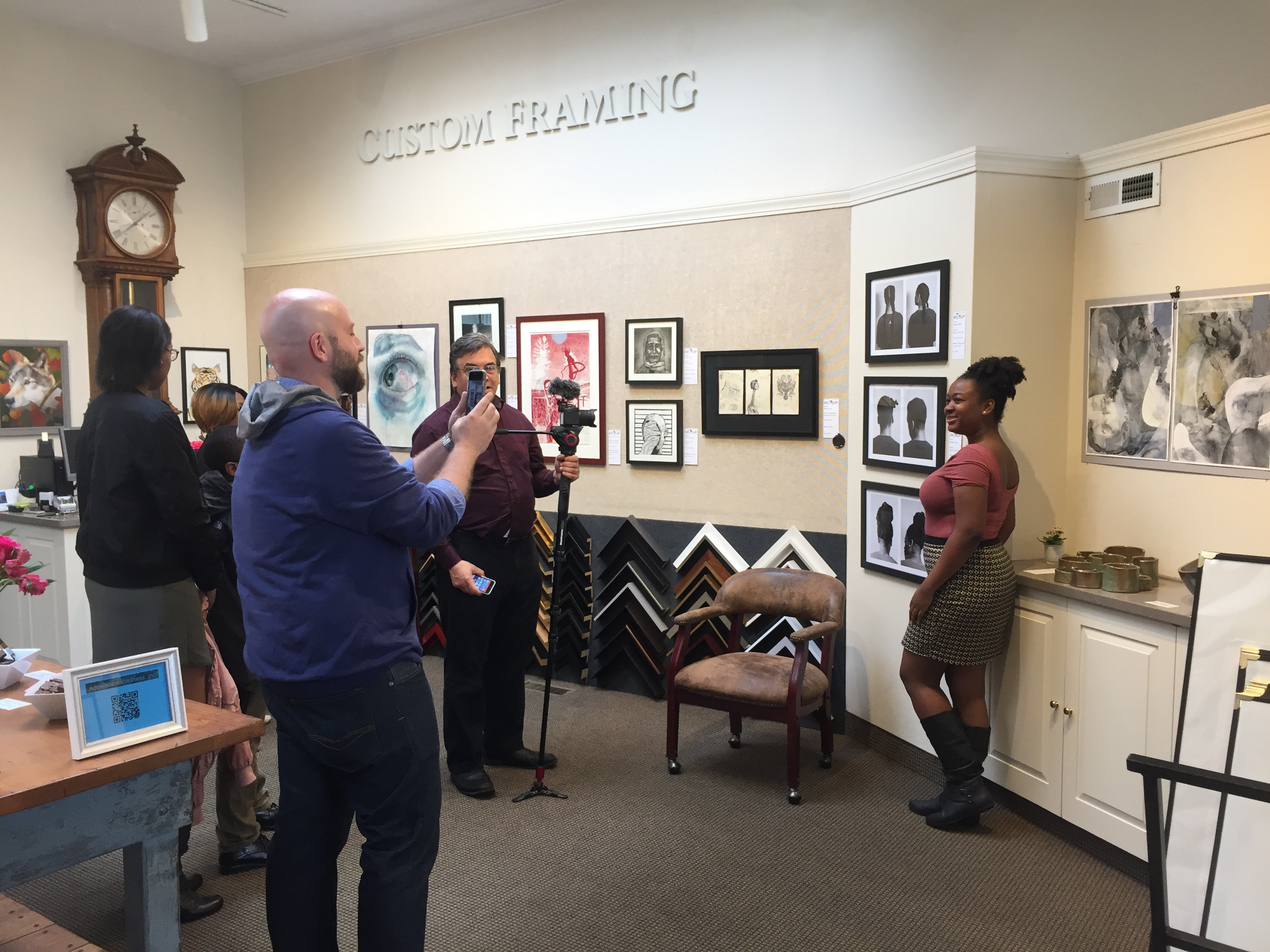 Next Up! 2017 Juried Art Exhibition and Reception at Page Waterman Fine Framing, Wellesley