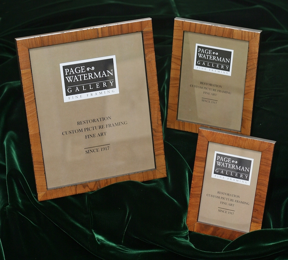 Photo frames are 50% Off at Page Waterman Fine Framing