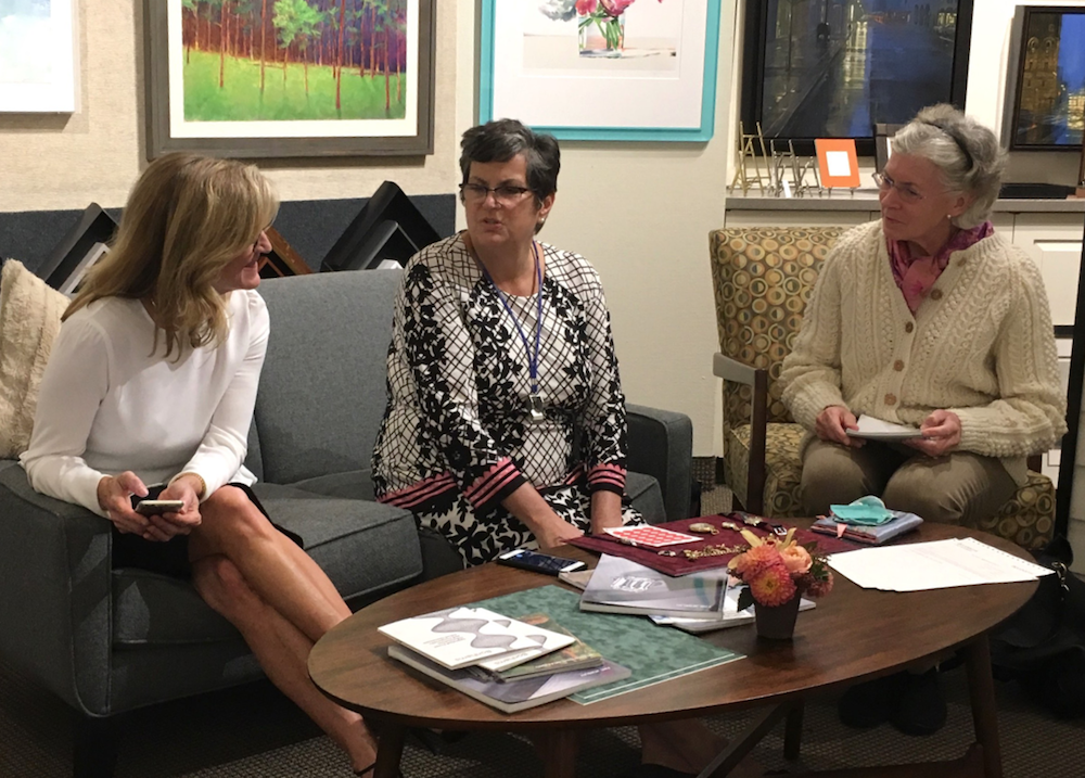 art and jewelry appraisals with Bonhams at Page Waterman Fine Framing in Wellesley Square