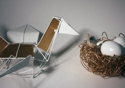 Origami Chime Family