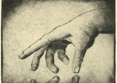 """Artist's Hand<br><span style=""""color: #ff5c00; font-weight: 600;"""">FIRST PLACE</span>"""