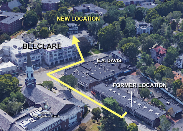 We are moving and expanding at our new location 592a Washington Street, Wellesley Square.