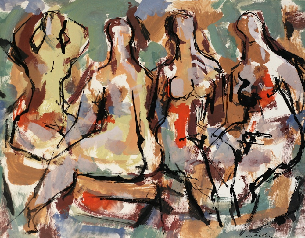 The art of Max Arthur Cohn at Page Waterman Gallery in Wellesley Square, Massachusetts