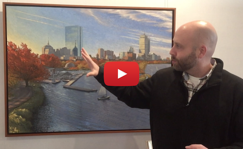 "Ryan Black on his painting ""Autumn Morning, Longfellow Bridge"""