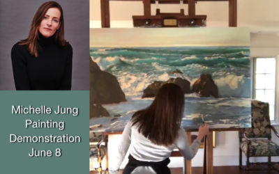 Michelle Jung Painting Demonstration