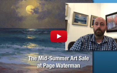 The Mid-Summer Art Sale at Page Waterman