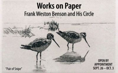 Works on Paper – Frank Weston Benson and His Circle